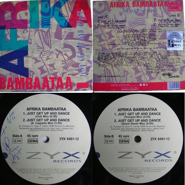 "Africa Bambataa Just Get Up Dance Single 12"" 1990 Flac Nnnnn-46b27db"